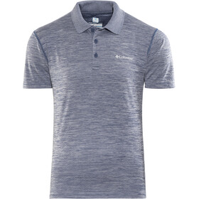 Columbia Zero Rules Maglietta polo Uomo, carbon heather
